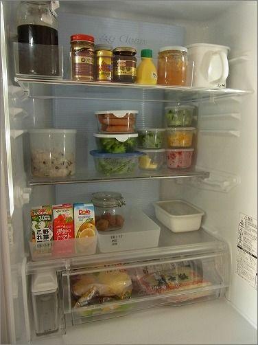 【 下ごしらえ食材、冷蔵庫内「見える化」計画 】 : 片付けたくなる部屋づくり