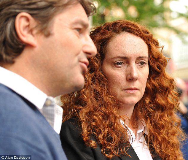 'We are victims of a witch-hunt': Rebekah Brooks and husband Charlie lash out after they are charged with perverting the course of justice in phone-hacking scandal