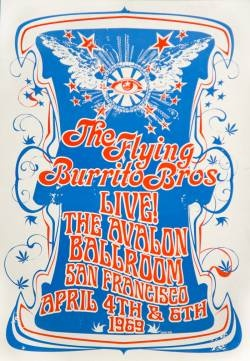 Flying Burrito Brothers Poster