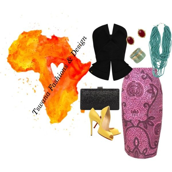 """""""Tswana Fashions How to...."""" by introducing-neo on Polyvore"""