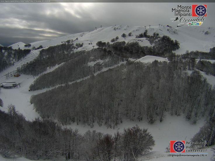 Nevica anche in Appennino e la prossima settimane è attesa altra #neve