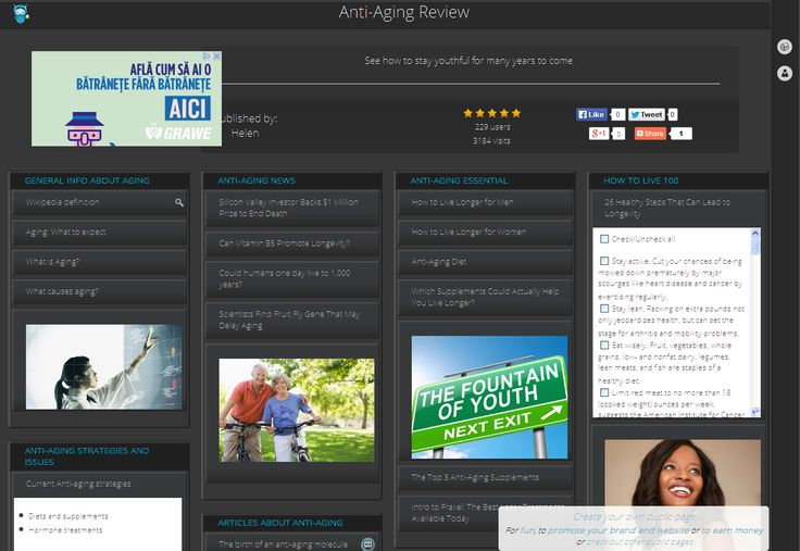 Anti-Aging Review