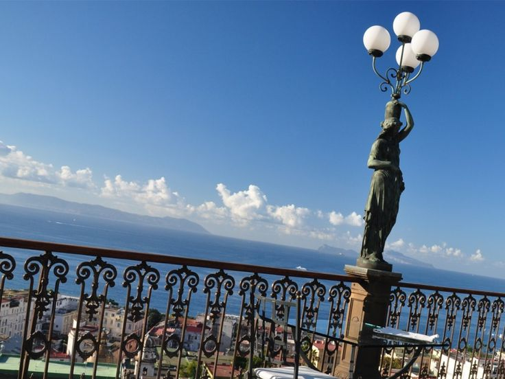 At the Grand Hotel Parker's #Napoli #hotels #food #travel