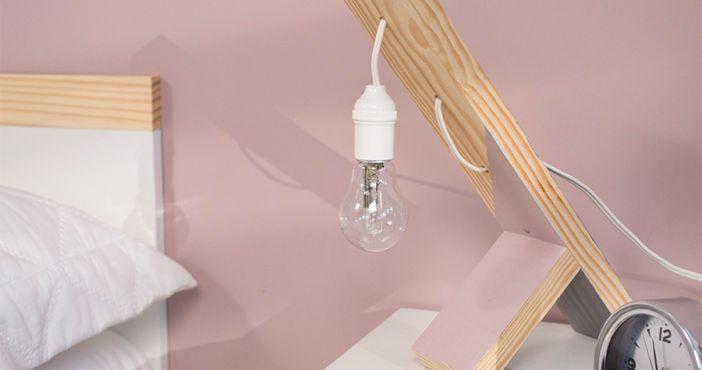 Como fazer uma luminária de mesa
