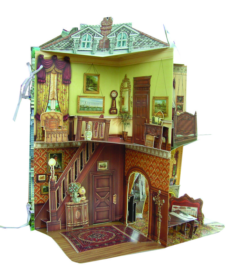 17 best images about doll houses on pinterest miniature for Victorian doll house plans