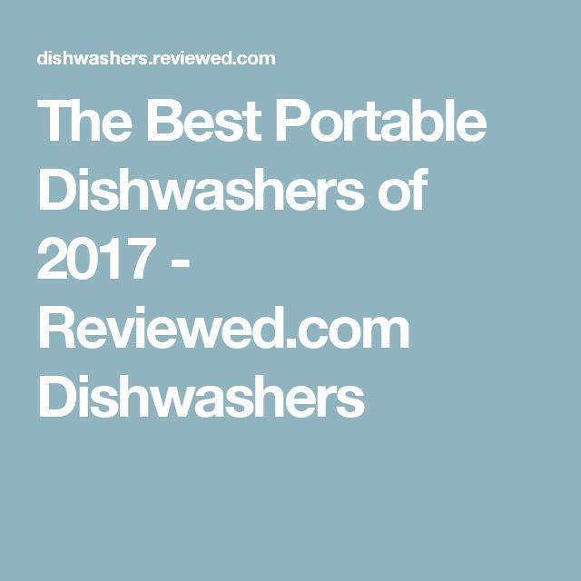The Best Portable Dishwashers of 2017 - Reviewed.com Dishwashers