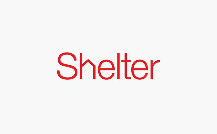 shelter logo design