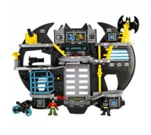 Imaginext DC Superfriends Batcave (3+, Fisher-Price, $40) CTTC – Three Star Rating The Noise on Toys – Platinum Choice Award featured in bot...