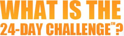 The 24 day challenge is not a fad diet. It is not a quick solution. It is a jump start to a change for a healthier lifestyle. Real people are having real results. I myself lost 10lbs and 10 1/2 inches in 24 days with no working out, just taking the products and making smart eating choices! You can you it to!! Message me or check out my site for more info!
