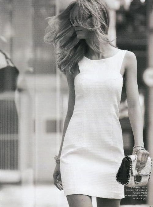 Simplicity never goes out of style girls, remember that.
