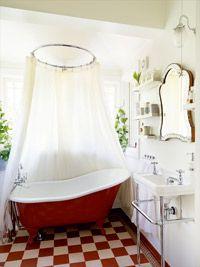 Nya badrum i gamla hus - Gård och Torp
