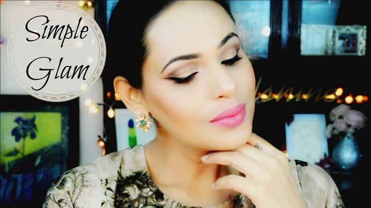 Simple Glam Eye Makeup | Makeup Revolution Ultra Eyeshadow Palette