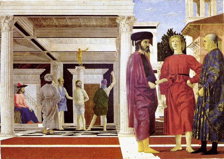 Piero Della Francesca - The Flagellation of Christ (1460