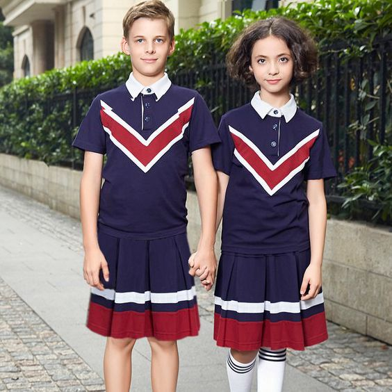 Not mini skirts but shows guys and gals look good in skirts (like pants)...