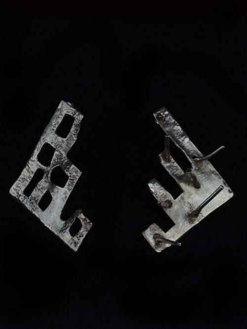 """Earrings """"Ruins of Troy"""""""