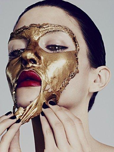 Gold by Violette for Harper's Bazaar May 2014