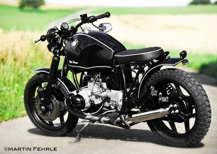 Black Widow - Nice Power baut Custombikes Scrambler Bobber Caferacer