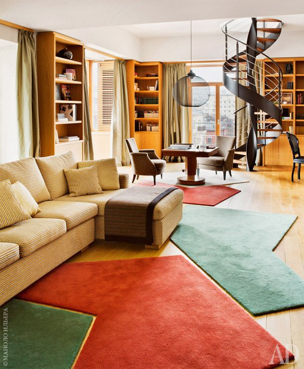 Квартира на Патриарших | AD Magazine http://www.admagazine.ru/inter/52828_kvartira-na-patriarshikh.php