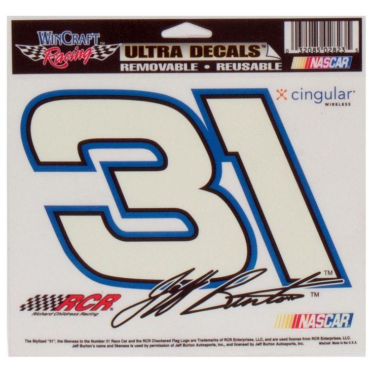 Jeff Burton - 31 Signature Retro Decal