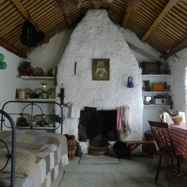 45 best images about irish cottage on pinterest for Traditional irish cottage plans