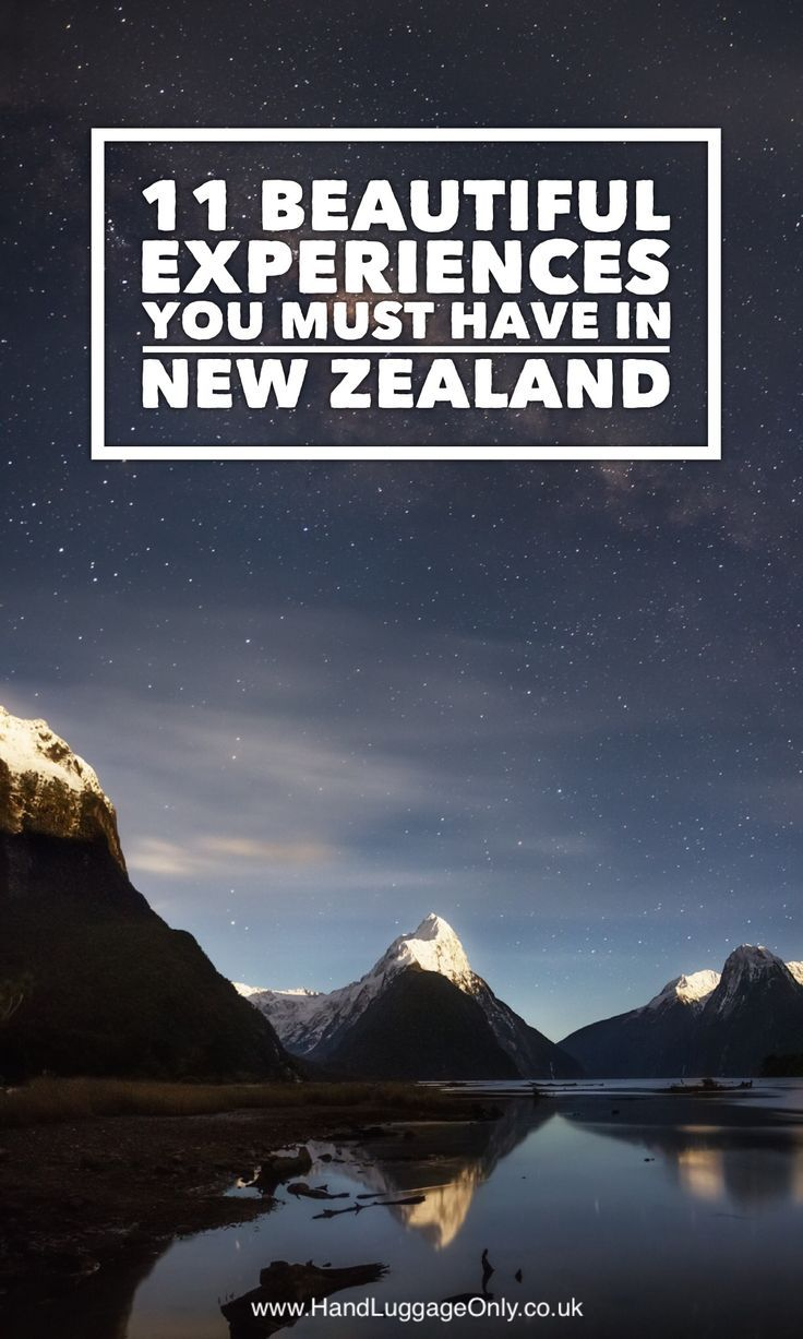 11 Unique Experiences You Need To Have In New Zealand - Hand Luggage Only…
