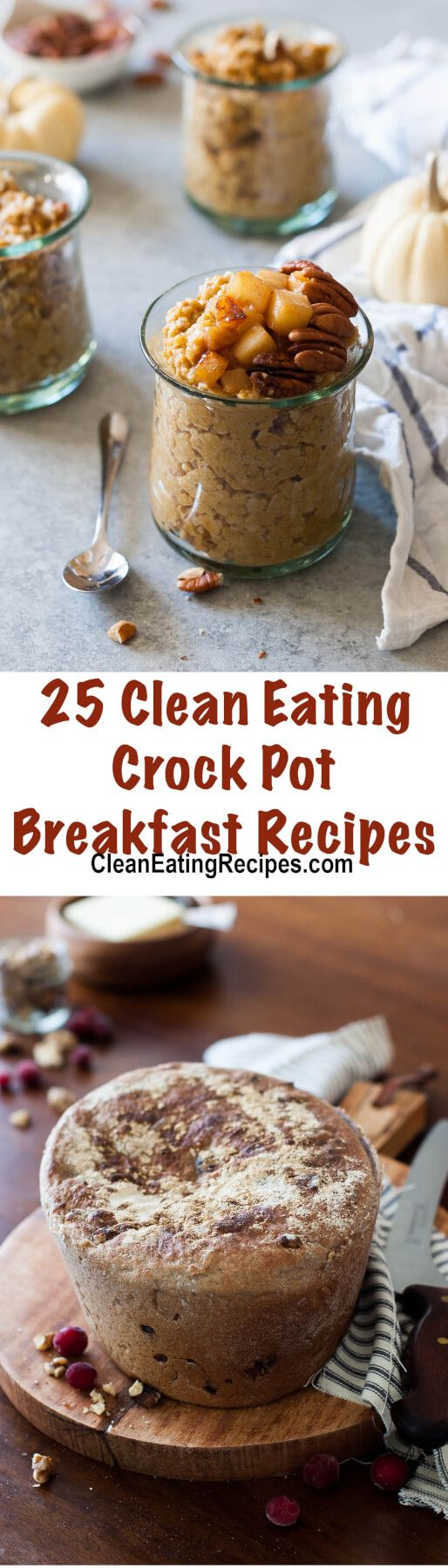 These easy crock pot breakfast recipes are so nutritious and good - you'll want to try them all.