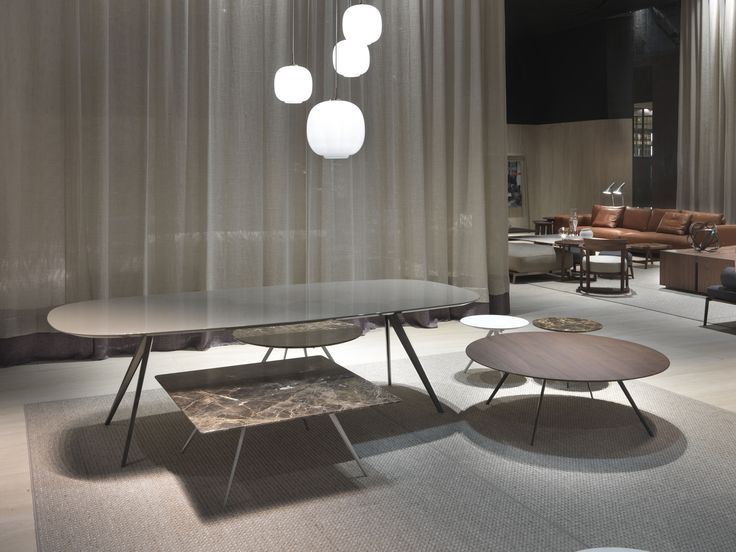 #FLEXFORM ZEFIRO #table collection #design Antonio Citterio. Find out more on www.flexform.it