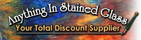Anything in Stained Glass Supplies (the best prices on glass and supplies!!)