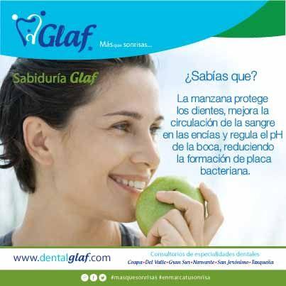 La manzana, tu aliada para la salud.   dentista, df, caries, encías, mujer, niños, familia