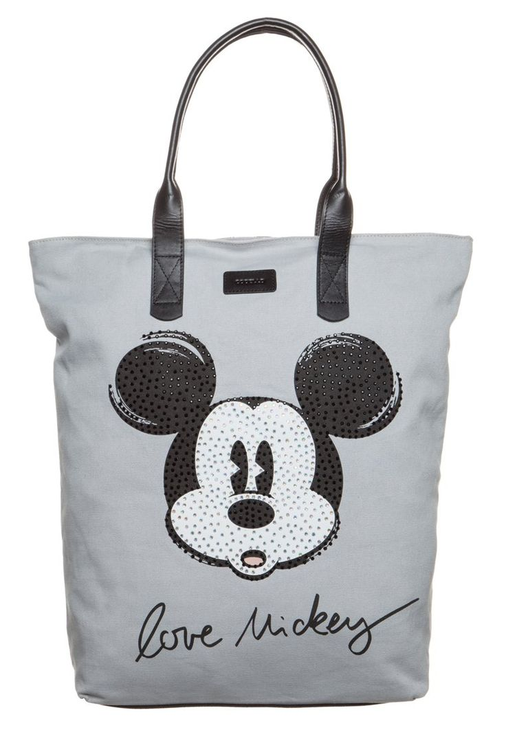 Codello Torba na zakupy light grey / Mickey Mouse shopper bag / torba na zakupy z myszką miki