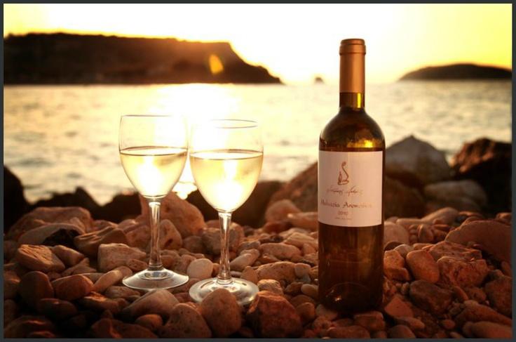 Dourakis Wines (http://dourakiswinery.gr/catalog/index.php) We love their Imiglikos Douraki- Semi sweet white wine and we highly recommend it!