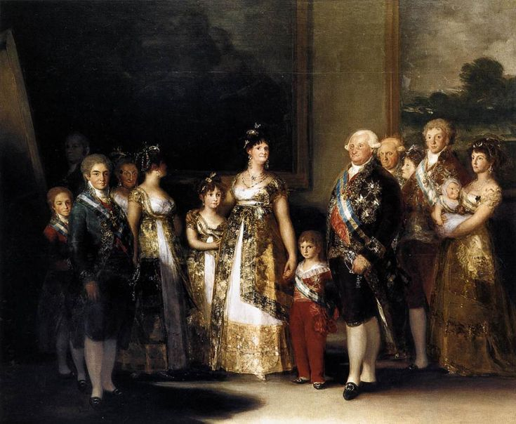 Goya: Charles IV of Spain and His Family