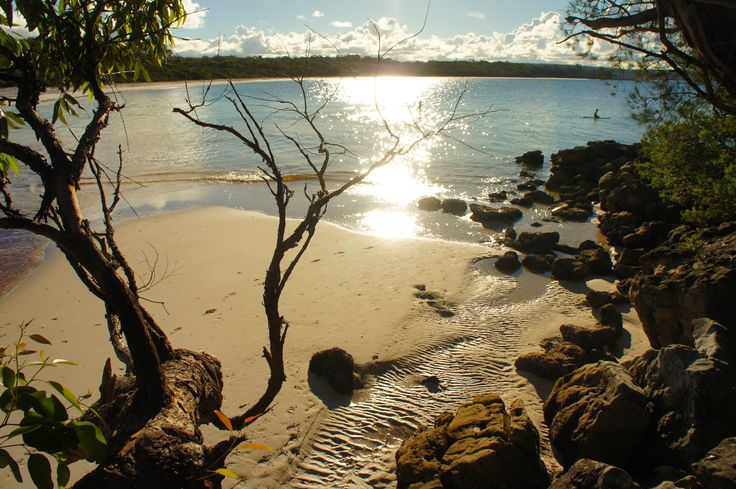 how to get to green patch jervis bay