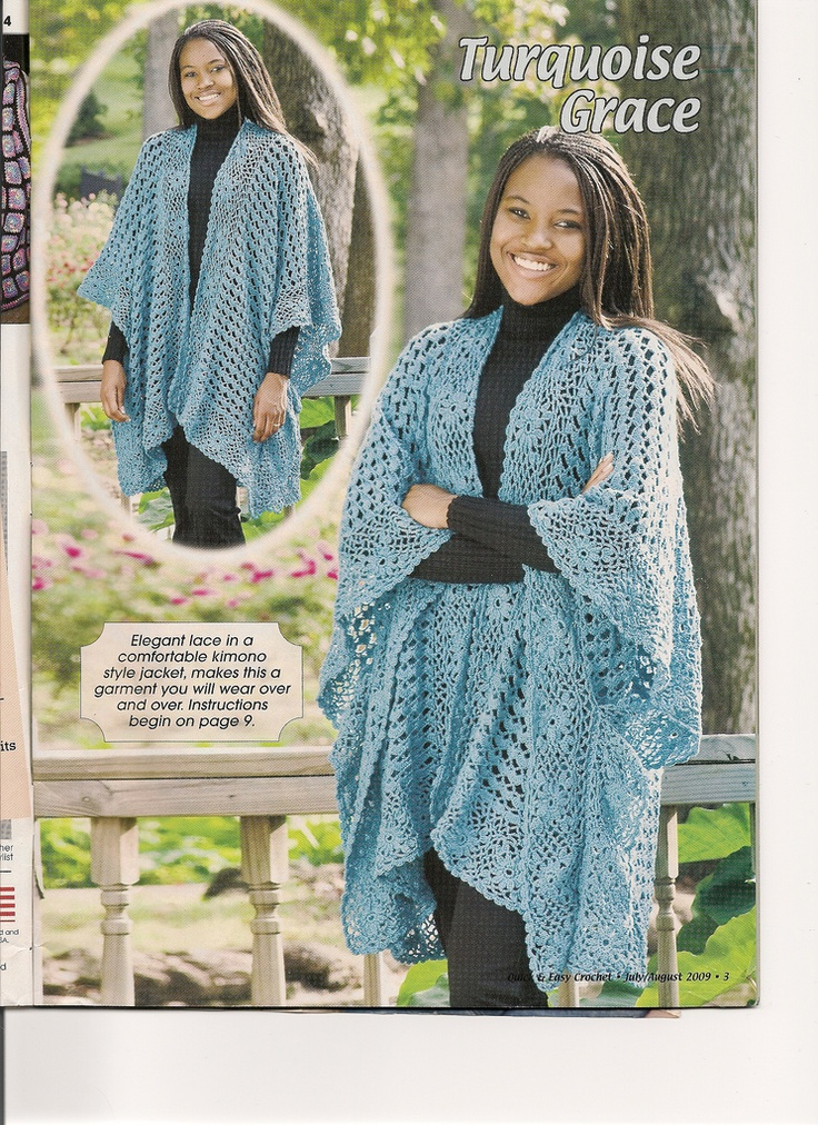Turquiose Grace published in Crochet World Indispensable ...
