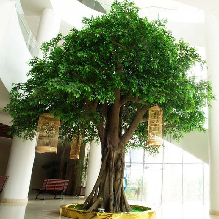 High simulation large artificial tree for outdoor decoration artificial ficus…