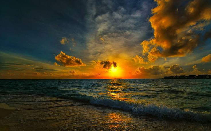 sunset at sea.......... by Haşim Temir on 500px