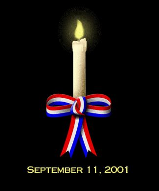Please pass this candle in remembrance of  09/11/11 for all Americans living here and beyond~United We Are Strong~