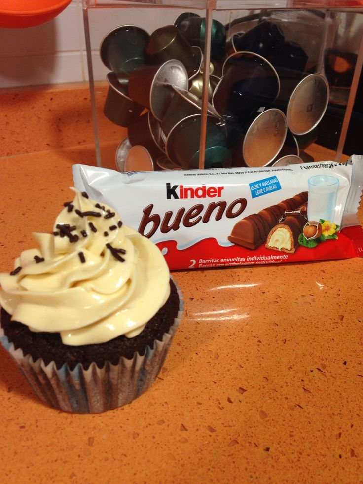 Cupcake de kinder bueno.