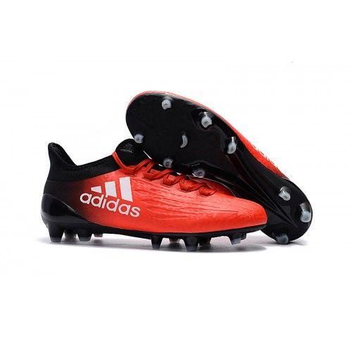 Adidas X 16.1 FG AG Botas de fútbol para hombre Naranja Negro Blanco