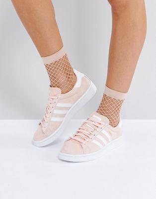 adidas Originals – Campus – Sneaker in Blassrosa