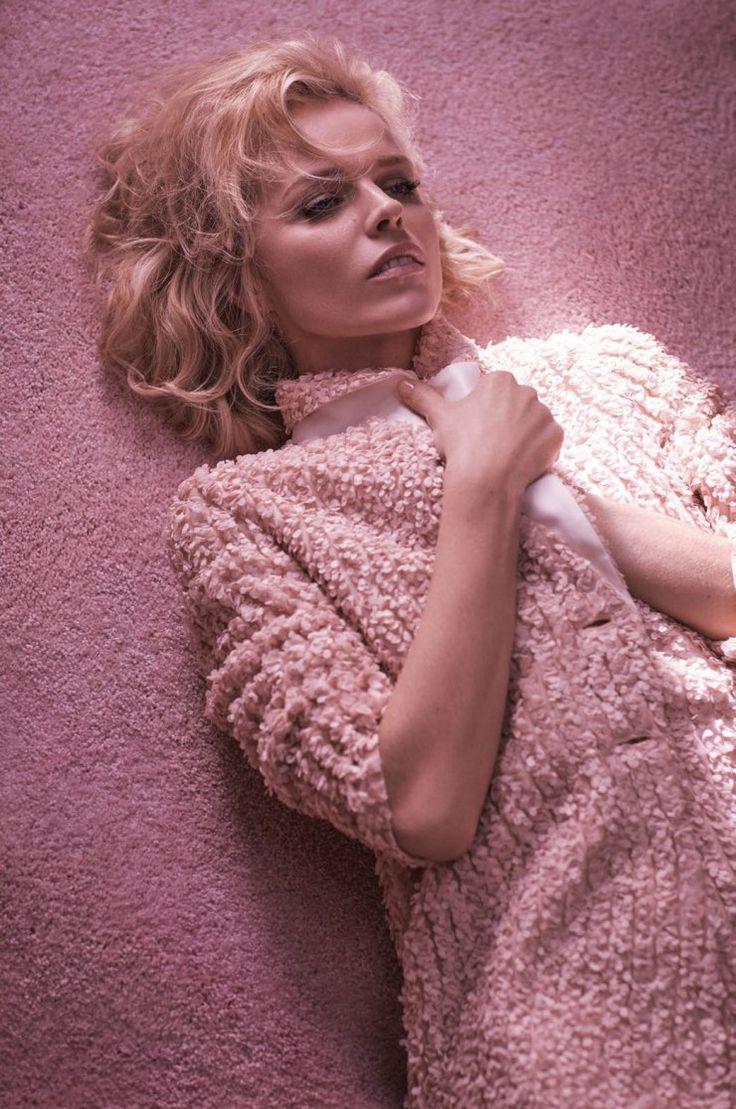 Eva Herzigova by Mikael Jansson for Vogue Paris March 2016