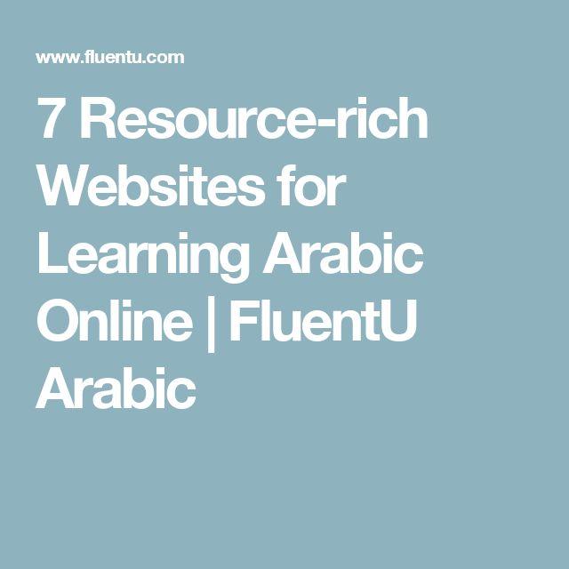 7 Resource-rich Websites for Learning Arabic Online | FluentU Arabic