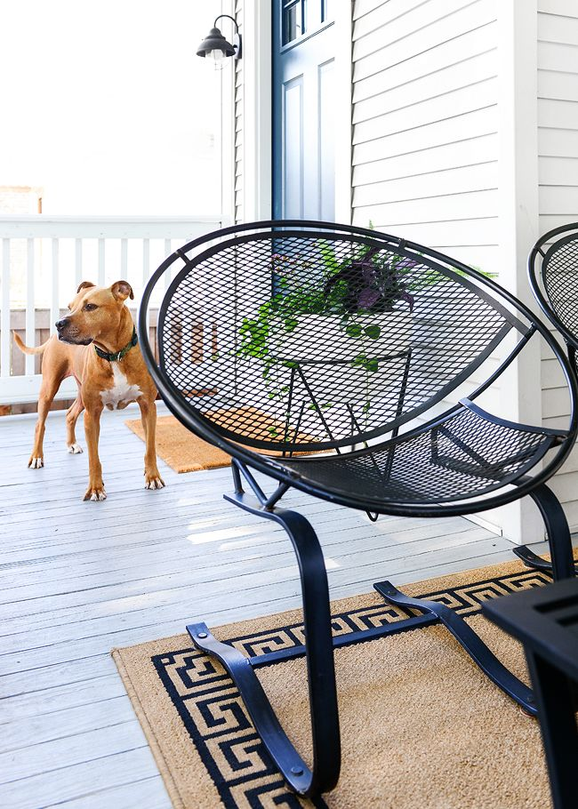 Saving Our Patio Chairs From A Rusty Future The Breezy Outdoors Furniture Iron