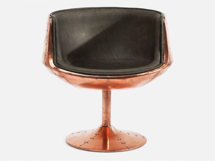 Krzesło Obrotowe Club 54 — Krzesła — KARE® Design