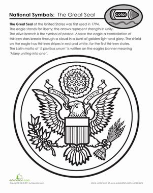Grade  Patriotic Coloring Pages