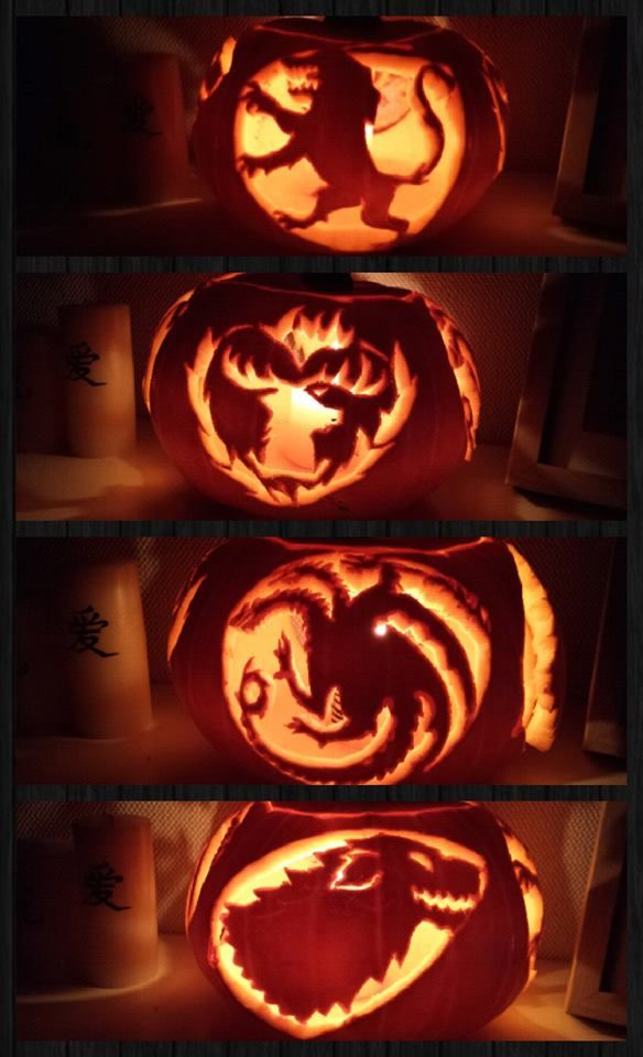 Game Of Thrones Pumpkin.
