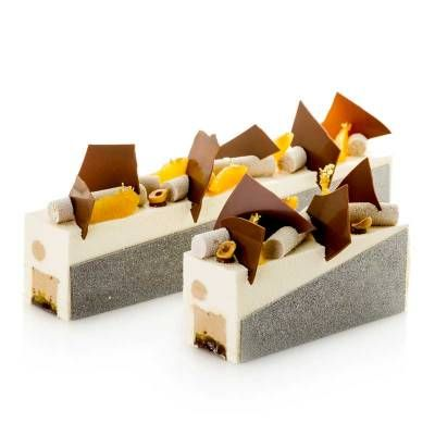 Troncos - Trabajos de Raúl Bernal – Maestro pastelero y chocolatero Santapau 2011