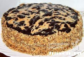 Арахисовый торт Коровка, torty sladkaya vypechka i deserty