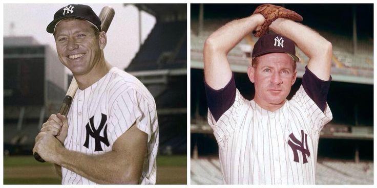 #InfoMLB #UnDiaComoHoy  en 1974 son electo al Salón De la Fama el gran Mickey Mantle & Whitey Ford #Yankees