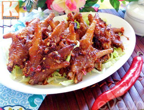 Cách làm món chân gà nướng xì dầu lạ miệng, hấp dẫn - http://congthucmonngon.com/165729/cach-lam-mon-chan-ga-nuong-xi-dau-la-mieng-hap-dan.html